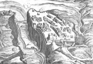 Castro 17th century engraving