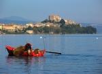 lake Bolsena fishing boat
