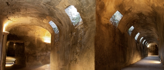 Roman cryptoportico, Vulci