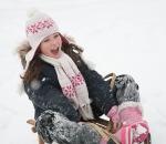 Allegra sledging