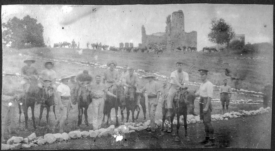Albania_donkeys.1914.Somerville