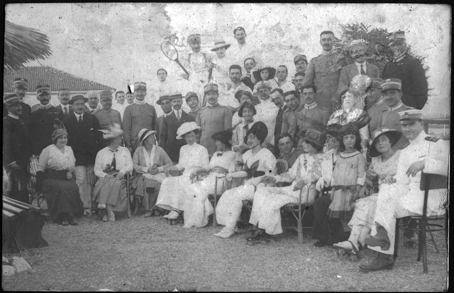 Albania_international_group.1914.Somerville