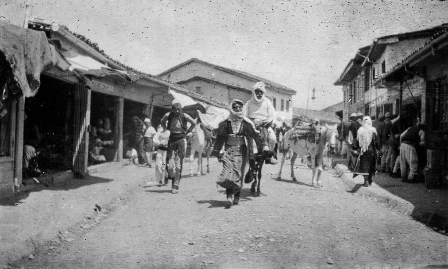 Albania_Scutari_street.1914.Somerville