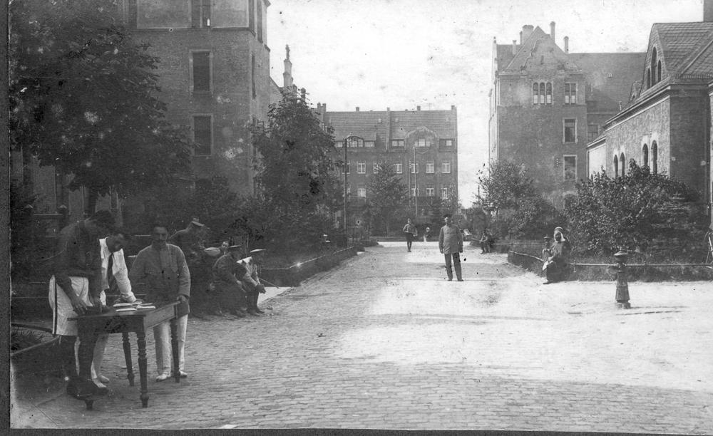 Crefeld PoW camp 1914